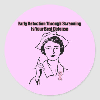 Stickers - Breast Cancer Screening