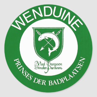 Stickers (cut down of 20) Wenduine weapon shield