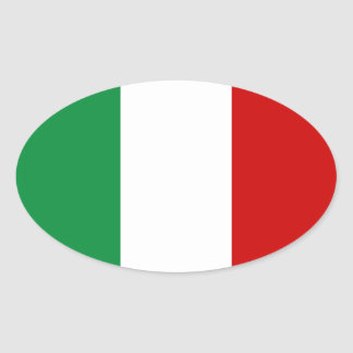 Stickers Flag of Italy Italian il Tricolore