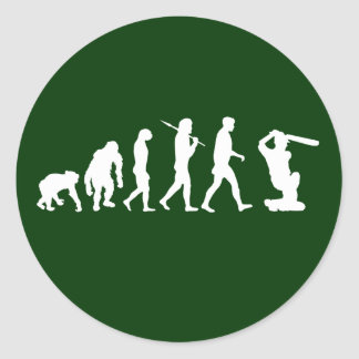 Stickers for Cricketers - Evolution of cricket