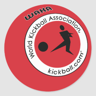 Stickers - Kickball Logo
