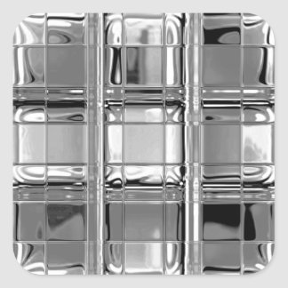 Stickers Shades of Grey Glass Mosaic