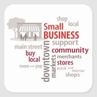 Stickers, Shop Local, Buy Local, Small Business