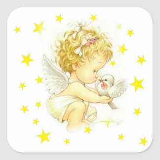 Stickers with angels