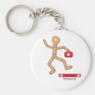 Sticking plaster Figure bags.ai Key Ring