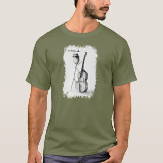 Stickman Bass Mens T T-Shirt