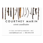 Sticks Rustic Branches Nature Shabby Chic Print Pack Of Chubby Business Cards