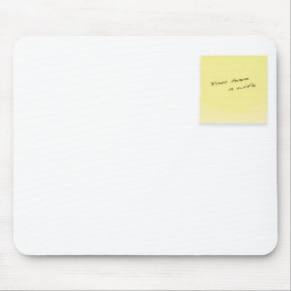 sticky note mouse pad