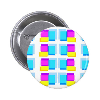 STICKY NOTES Colorful Collage 6 Cm Round Badge
