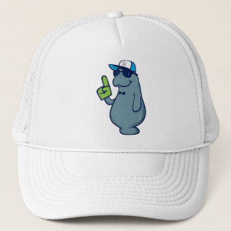 Sticky Password Trucker Hat - Mr. Manatee
