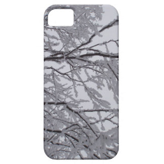 Sticky snow stuck to branches. iPhone 5 covers