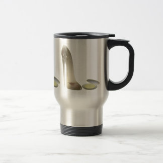 Stiletto Shoe and Compact Art Coffee Mug