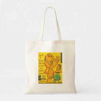 Still A Towel Rack! Canvas Bags