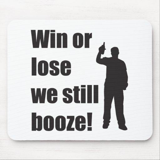 still booze mousepad
