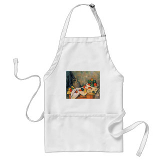 Still Drapery Jug And Fruit Bowl By Paul Cézanne Aprons