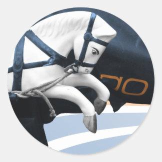 Still Gallop sticker