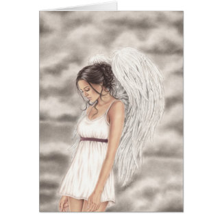 Still Here Angel Greeting Card