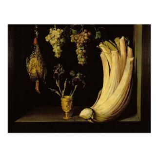Still Life, 1628 Postcard
