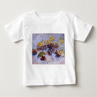 Still Life: Apples, Pears, Grapes - Van Gogh Baby T-Shirt