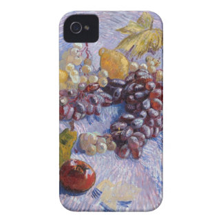 Still Life: Apples, Pears, Grapes - Van Gogh iPhone 4 Covers