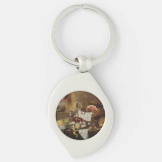Still Life art key chain Keyring