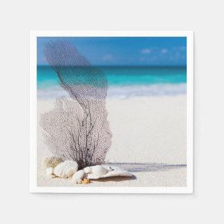Still Life Beach Paper Napkin