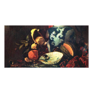 Still Life By Kalf Willem (Best Quality) Photo Cards