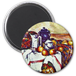 Still Life By Paul Cézanne (Best Quality) Magnet