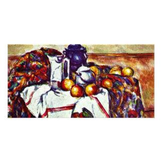 Still Life By Paul Cézanne (Best Quality) Customized Photo Card