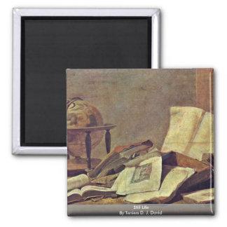 Still Life By Teniers D. J. David Magnet