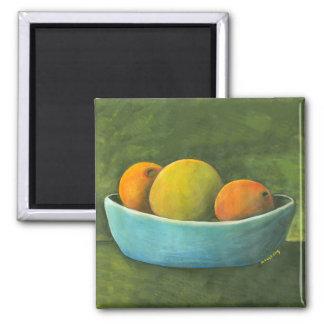 Still Life Fruit Bowl Magnet