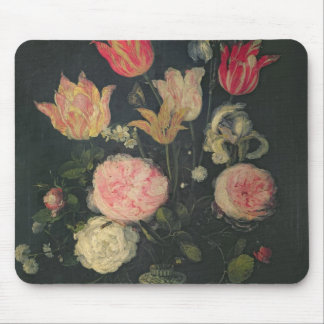 Still Life of Flowers Mouse Pad