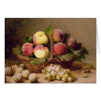 Still life of fruit card