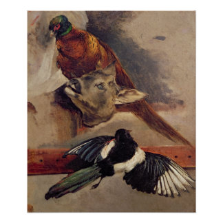 Still Life of Game, c.1812-16 Poster