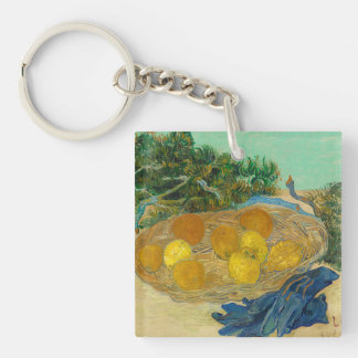 Still Life of Oranges and Lemons with Blue Key Ring