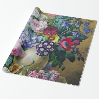 Still Life of Summer Flowers Gift Wrap