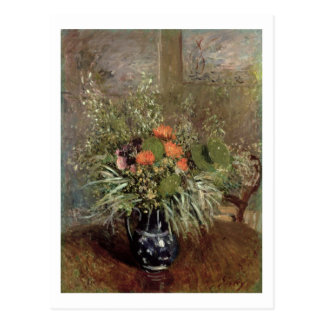 Still Life of Wild Flowers Postcard