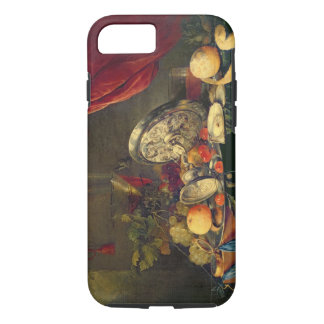 Still Life (oil on panel) iPhone 7 Case