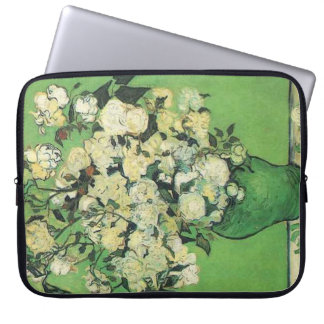 Still life - Pink Roses in a Vase,van Gogh Laptop Computer Sleeves