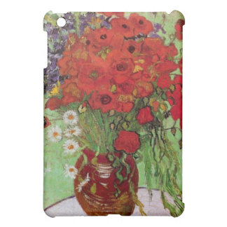 Still Life Red Poppies and Daisies by Van Gogh iPad Mini Case