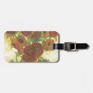Still Life: Sunflowers Bag Tag