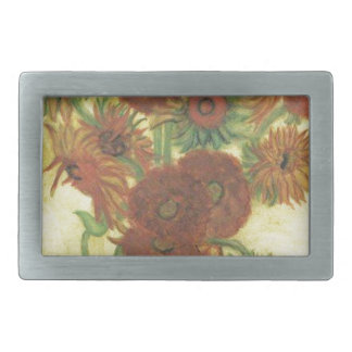 Still Life: Sunflowers Belt Buckles