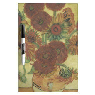 Still Life: Sunflowers Dry Erase Board