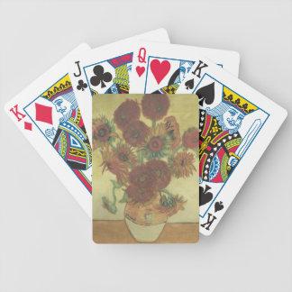 Still Life: Sunflowers Poker Deck