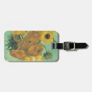 Still Life: Sunflowers - Vincent van Gogh Bag Tag