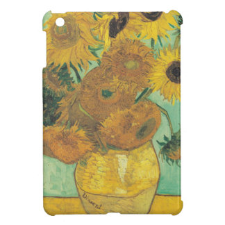 Still Life: Sunflowers - Vincent van Gogh iPad Mini Cover