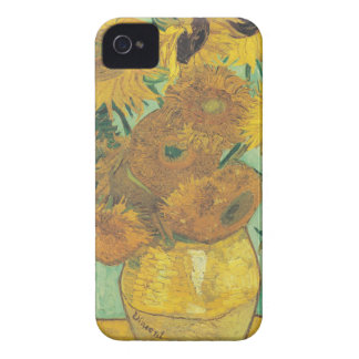 Still Life: Sunflowers - Vincent van Gogh iPhone 4 Cases