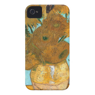 Still Life: Sunflowers - Vincent van Gogh iPhone 4 Cover