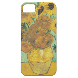 Still Life: Sunflowers - Vincent van Gogh iPhone 5 Covers