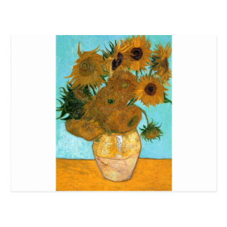 Still Life: Sunflowers - Vincent van Gogh Postcard